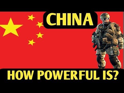 Scary!! CHINA  MILITARY POWER 2018 ||  Chinese Armed Force | Chinese Army Strength