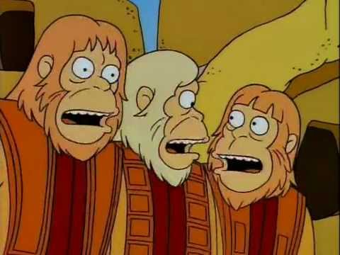 Dr zaius - Los simpsons latino