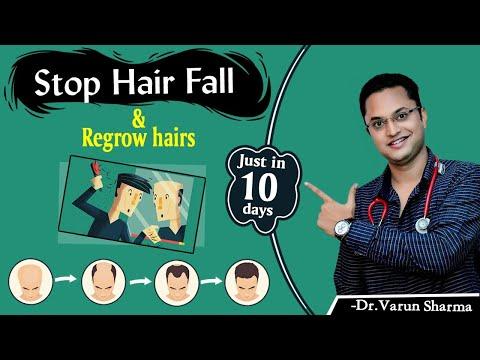 Hair Loss Treatment At Home Naturally, How to regrow hairs naturally