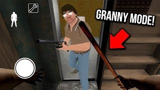 How to Play as GRANNY in Granny Horror Game... (NEW MODE in Granny Mobile Horror Game)