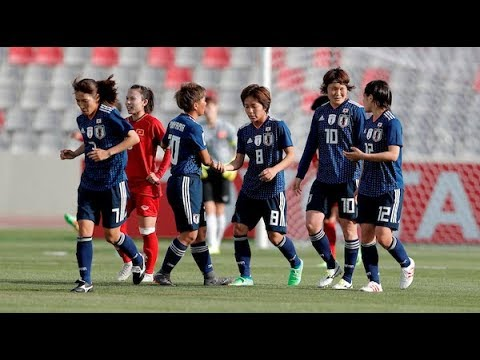 Japan 4-0 Vietnam (AFC Women's Asian Cup 2018: Group Stage)