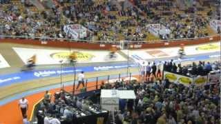 Gentse Zesdaagse 2012 - Spectaculairste onderdeel - Koers achter derny