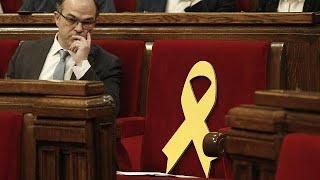 En directo: pleno de investidura de Jordi Turull en el Parlamento de Cataluña