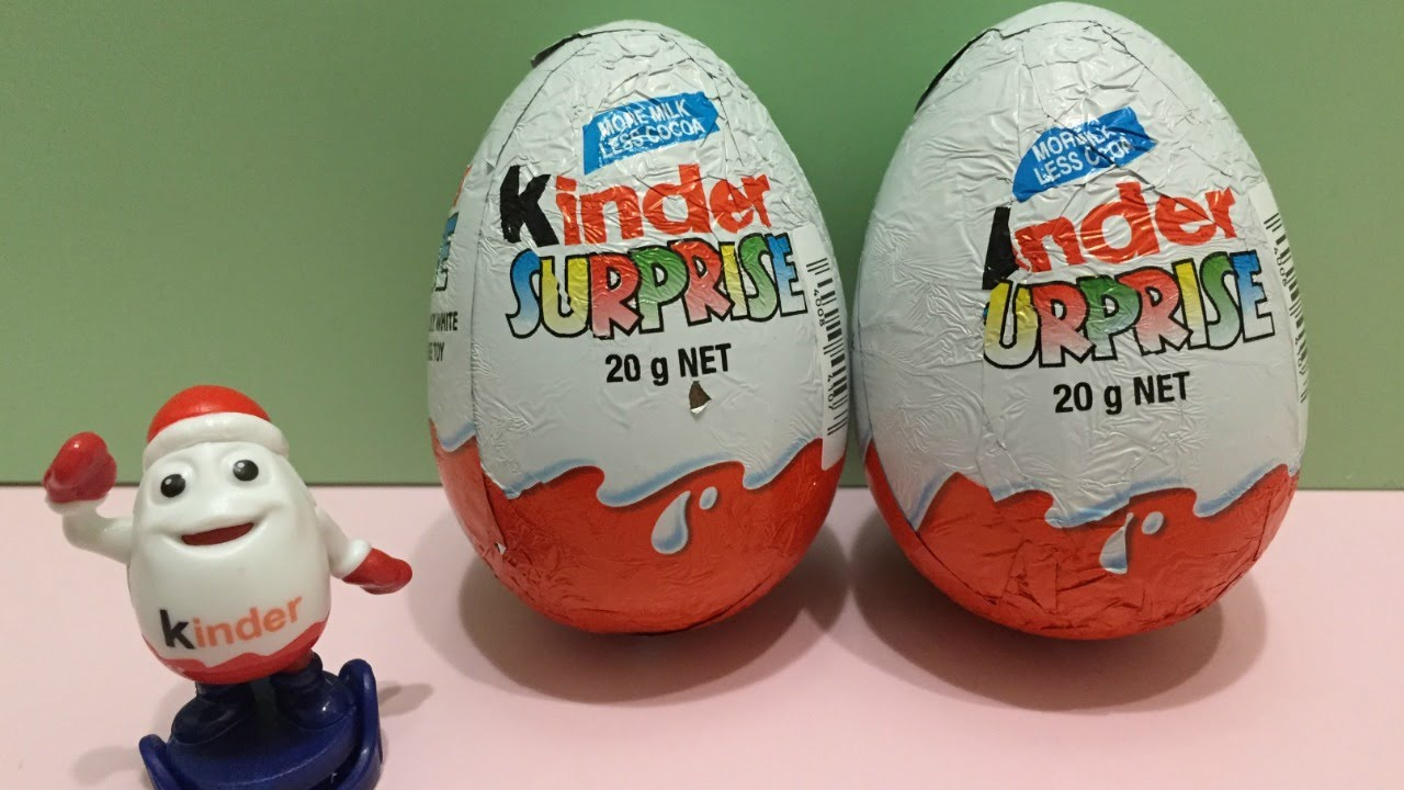 KINDER SURPRISE EGGS! Transformers Arcee and Megatron