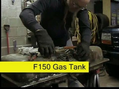Ford F150 fuel tank removal  service How To DIY - YouTube