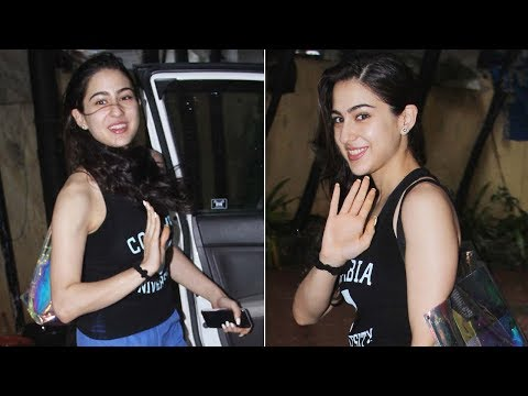 Sara Ali Khan is all smiles for the paparazzi post gym visit Mp3