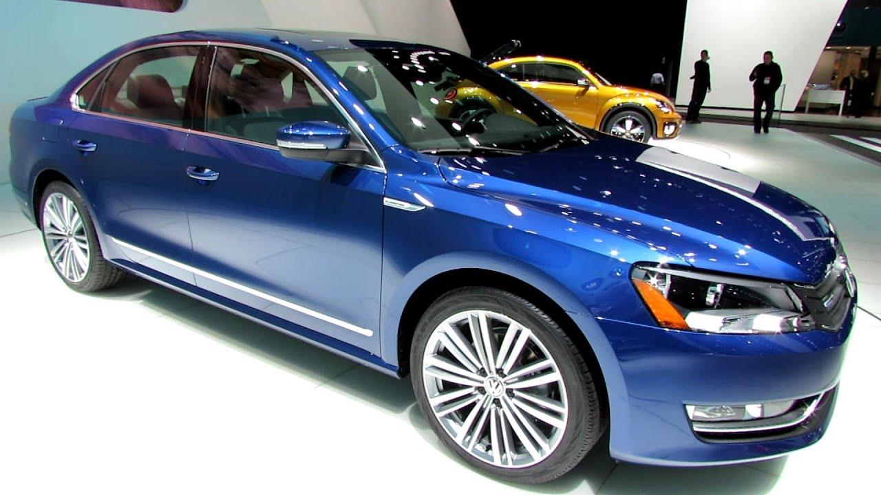 2015 Volkswagen Passat Bluemotion Concept Walkaround