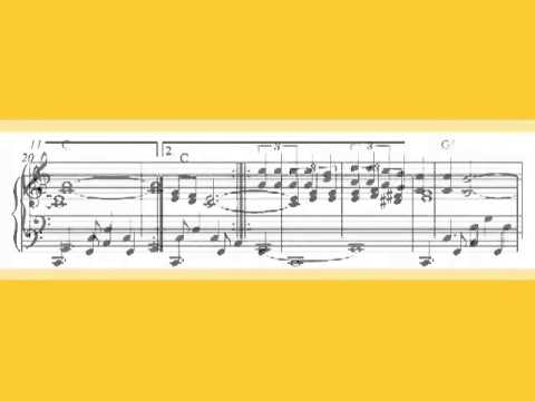 Partituras - La Paloma, free easy piano sheet music score