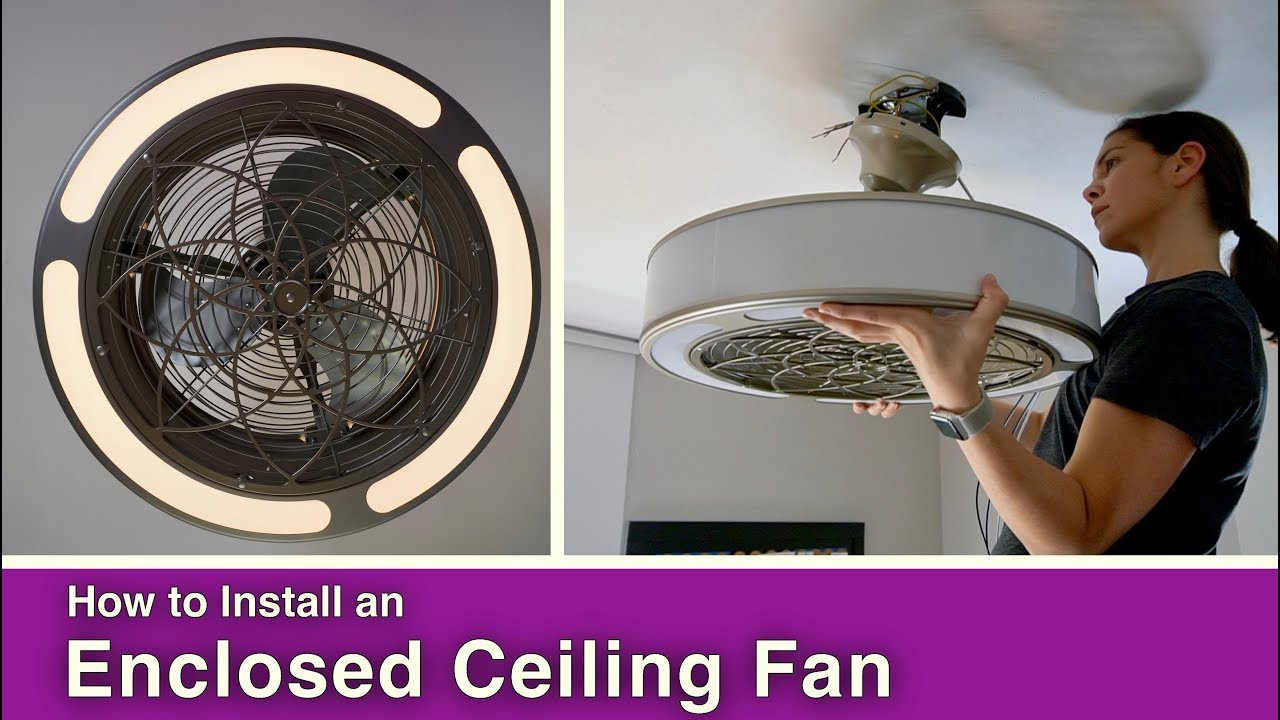 Enclosed Ceiling Fans Of 2020 Top 10