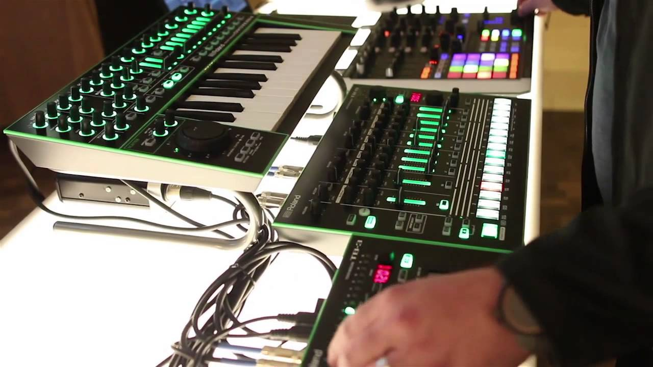 Welcome To Roland's New AIRA: TR-8, TB-3, VT-3 & System-1