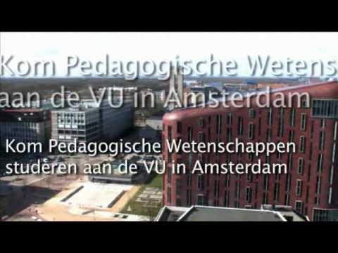 Pedagogiek Studeren Aan VU Amsterdam