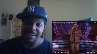 """Baby Dyce Reacts to - Corey Holcomb """"Stand Up Comedy"""""""