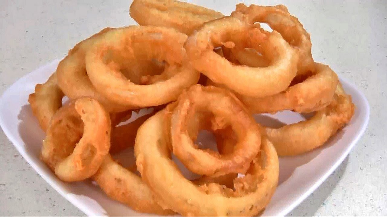 Beer Battered Onion Rings Recipe - YouTube
