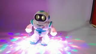 robot bailarin luces dancing robot niño