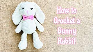 How to Crochet a Bunny Rabbit/ Amigurumi plush Bunny/ Amigurumi Bunny rabbit/ Bunny Crochet screenshot 5