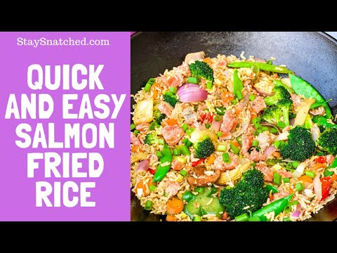 How To Make Salmon Fried Rice