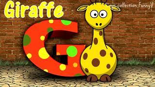 Английский алфавит/ Для самых маленьких/ Алфавит с животными
