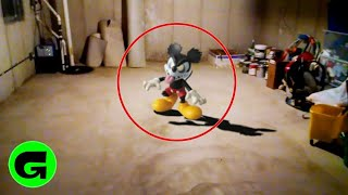 Zapętlaj TOP 5 EVIL MICKEY MOUSE CAUGHT ON CAMERA & SPOTTED IN REAL LIFE! | Gorgonic