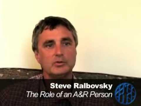 Steve Ralbovsky, former Senior Vice President of A&R at RCA Records