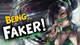 FAKER's Funny/Weird/Faker Moments | Faker Being Faker