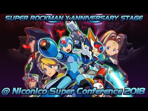 """Super Rockman X Anniversary Stage"" to be held at Niconico Super Conference 2018 on April 28th"