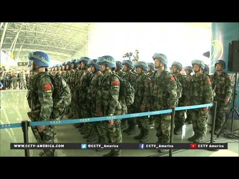 Last Of Chinese Infantry Battalion Heads To South Sudan