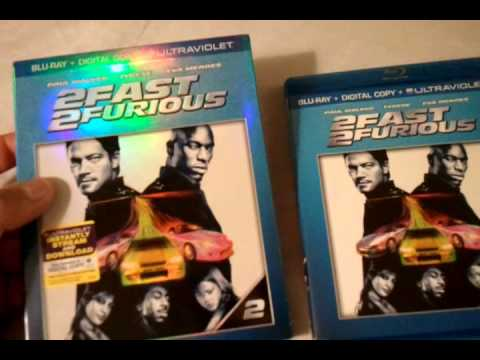2 Fast 2 Furious (2003) - Blu Ray Review and Unboxing