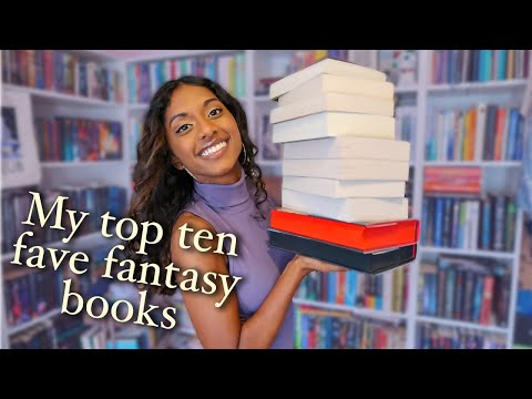 my TOP TEN favourite YA fantasy books/series ⚔️🧙‍♂️✨ | 2020