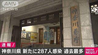 神奈川県で287人の新型コロナ感染確認 過去最多(2020年12月16日) - YouTube
