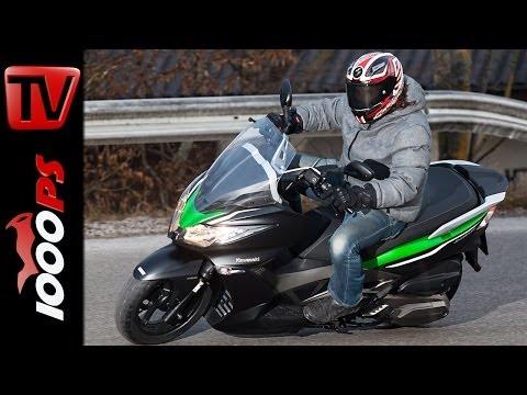 Kawasaki J300 Roller Test | Action, V-Max, Details - 2014