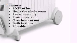 Масляный радиатор De'Longhi Rapido G011230RTW (без перевода)(, 2014-02-28T09:38:27.000Z)