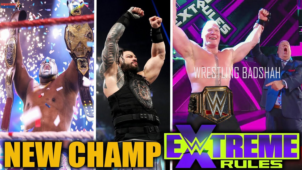 Brock Lesnar Returning at WWE Extreme Rules 2020?! Roman Reigns, Keith Lee Wins Both NXT Titles!!