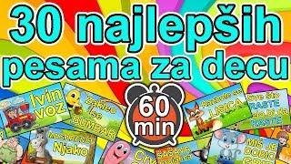 30 Najlepših dečijih pesama  60 MINUTA muzike za decu  Miks pesmica za decu  MIX najboljih pesama