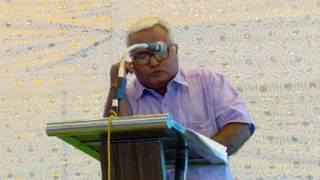 Tirupur Tamil Paleo Conference - Mr. Pa. Raghavan - Vegetarian Paleo Speech