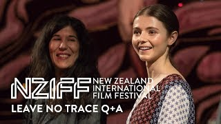 Leave No Trace Q+A with Debra Granik and Thomasin Harcourt McKenzie