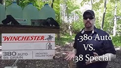 .380 Auto VS .38 Special in Pocket Guns Episode 19 - Winchester Classic JHP