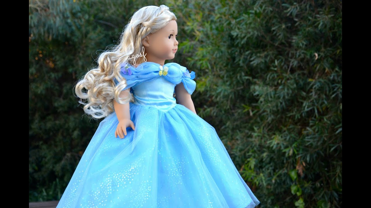 American Girl Doll Cinderella - YouTube