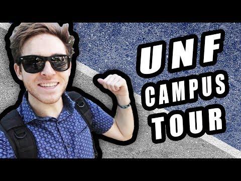 Little Campus Tour Of UNF | University Of North Florida (Jacksonville)