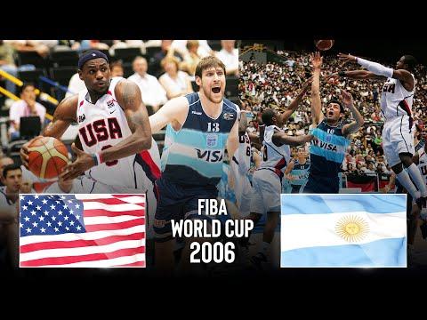 USA 🇺🇸 v Argentina 🇦🇷 | Bronze Medal Game | Classic Full Games - FIBA Basketball World Cup 2006