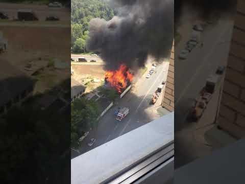 Пожар Бирюлёво