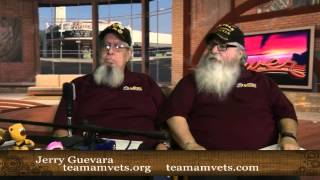 Jerry Guevara & John Byrum from Team AMVETS on the Central Valley Buzz