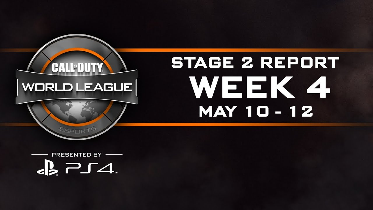Week 4 Stage 2: CWL esports Report – Call of Duty® World League [5/10 – 5/12]