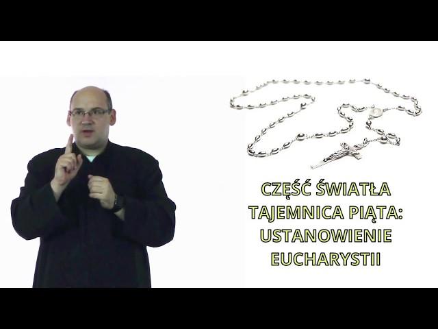 2.5. Ustanowienie Eucharystii