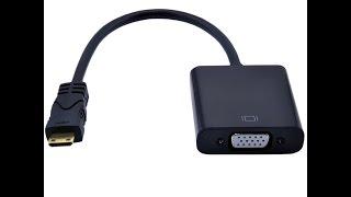 Cáp chuyển Mini HDMI to VGA chất lượng uy tín giá rẻ tại tphcm