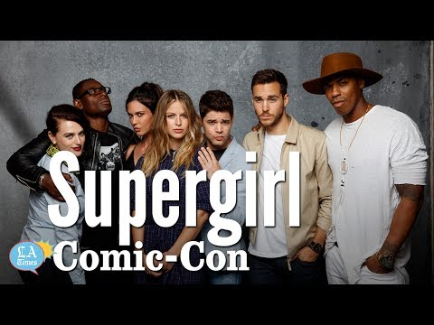 """Supergirl"" Cast Loves To Sing: Comic-Con 