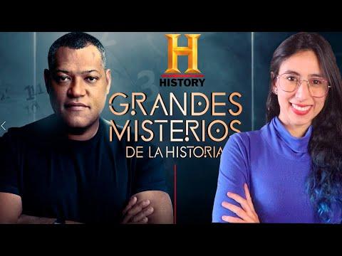 ???? GRANDES MISTERIOS DE LA HISTORIA presentado por LAURENCE FISHBURNE para HISTORY ???????????? Maritza Ariza