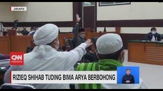 Rizieq Shihab Tuding Bima Arya Berbohong