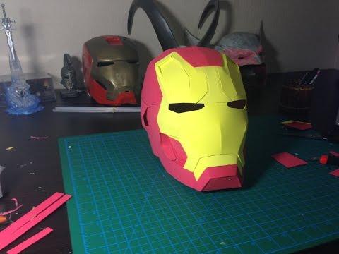 How to make Iron Man Helmet out of EVA Foam Tutorial