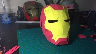 How to make Iron Man Helmet out of EVA Foam Tutorial