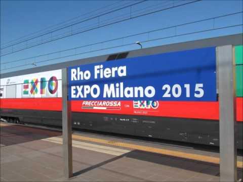 Annunci dalla stazione di rho fiera expo milano 2015 youtube for Expo fiera milano